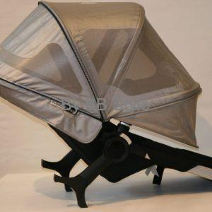 bugaboo donkey breezy sun canopy silver