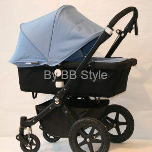 Bugaboo Cameleon 3 all black / himmelsblå