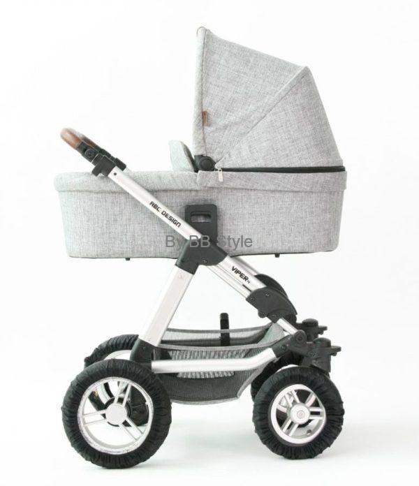 ABC DESIGN Kombivagn Viper 4 inklusive sittdel och liggdel graphite grey